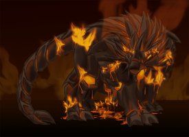Lich Beast Essence Fire by Toughset