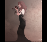 Vampiress's Melancholy Song for a Rose. by DJ88