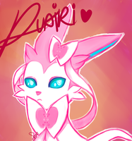 Ruairi The Sylveon by Mawii-Paws