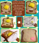 Toasty Cell Phone Holders by tedsie
