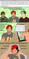 We Can't Call Jack! (Comic) by ManufracturedDev