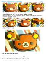 Polymer Clay : Rilakkuma Cake Tutorial - Part 2 by CraftCandies