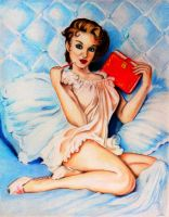Gil Elvgren Pin Up Girl by PMucks