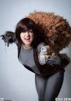 Squirrel Girl by BevanMaria