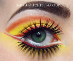 Fire by sarahmitchellmakeup
