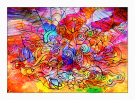 consciousness expansion color by Tellaine