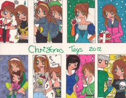 Christmas tags 2012 part1 by rumiko18