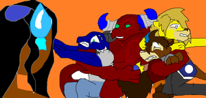Chaor choke hold by Coolterra342