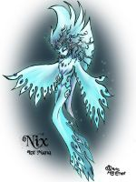 Nix The Mana Of Ice by RavenBlackCrow