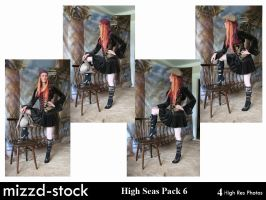 High Seas Pack 6 by mizzd-stock