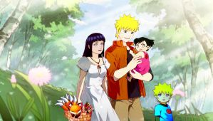 NaruHina Family by 777luck777
