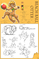 Beach Ball ref sheet by atryl
