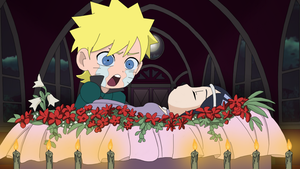 NaruHina SD: Romeo And Juliet by Darkkitty669