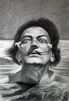Salvador Dali by moni-kaa5
