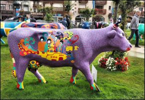 Beatles Cow by SUDOR