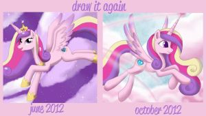Before and After Meme: Cadance by Mel-Rosey