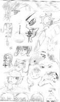 Old Testament Survey Doodles by Xhisteriah