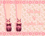 Cute shoes by Angelica-Lime
