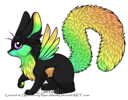Adopted: Flight Fluffy by Dragolicious