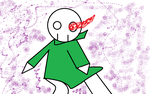 .: My New Undertale OC: Pans :. by Cosmeows