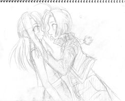 Ed N Winry by Riza23