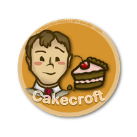 Cakecroft Shipping Button by RavenclawHobbit
