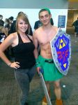 SHIRTLESS LINK OH MAN OH MAN by BluIceyy