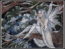 Snowflake Fairy by Terrauh