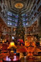 Christmas Tree in the Grand Floridian by JoeMyDodd
