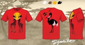 African Centaurs Call the Sun by SYoshiko