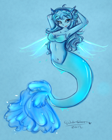 Gleam Mermaid by WaterGleam