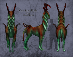 Cervidae Potio :blood morph: by Anatomical-Automaton