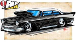 57 Chevy Drag 02262015 by Bmart333