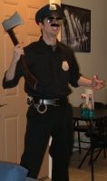 Ax Cop Cosplay Final by DirtyColumbus