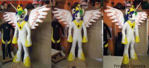Celestia Full Fursuit MLP by AtalontheDeer