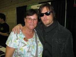 FMTaHC - Autograph - Norman Reedus! by RemySwan