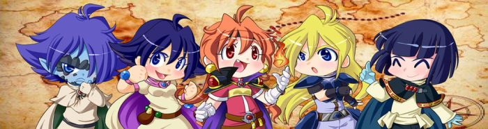 Slayers Chibis by Onirin