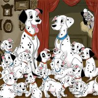 101 dalmatians by Brunamf