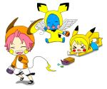 Fairy Tail: Pikachu Evolution by bunnyliou