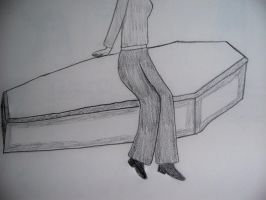 Sitting On A Coffin by iaml0st815