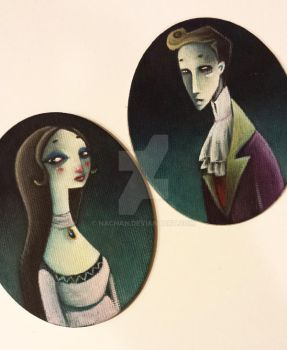 Little gothic portraits by Nachan