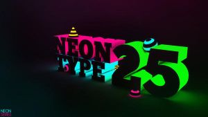 Neon TyPe 25 by 123zion456