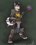 Battle Mage Tidus by CanineHybrid