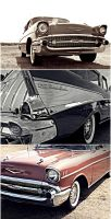 57 Chevy by FrancesColt