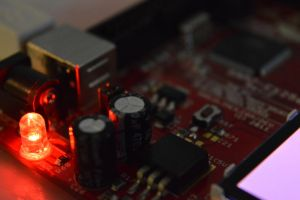 Second Close-up of a microcontroller by Bjarno
