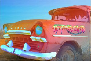 Retro car by sachinnayyar