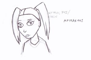 Animorphs WIP: Karen/Aftran 942 by LittleGreenGamer