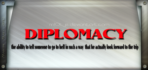 Diplomacy by M10tje