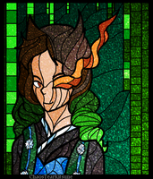 Stained Glass: Turbury by ChaosTearKitsune