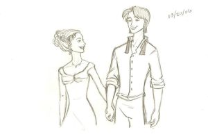 Sirius and Evelyn by jessa618